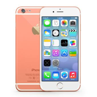 apple iphone remade 6 16 go 4 7 39 39 rose pamplemousse reconditionn a smartphone achat. Black Bedroom Furniture Sets. Home Design Ideas