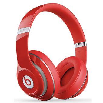 160 sur casque sans fil beats studio2 rouge casque audio achat prix fnac