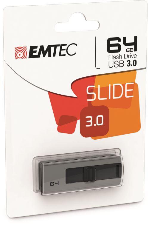 Emtec B250 Slide clé USB 64 Go USB 3.0 Pas Cher | Bureau