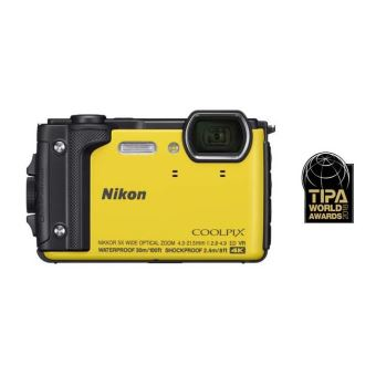 Compact Nikon Coolpix W300 Jaune