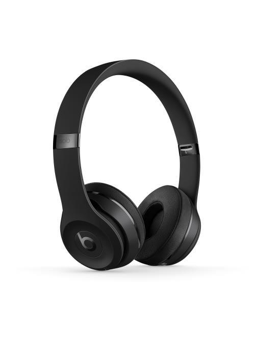 Casque supra-auriculaire sans fil Beats Solo3 Noir verni