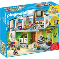 Playmobil City Life L'école 9453 Ecole aménagée