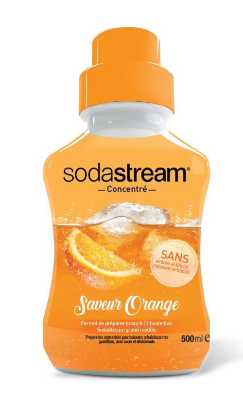 Concentré Saveur Orange 500 ml Sodastream