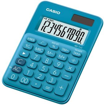 Calculatrice de bureau Casio MS-7UC Bleu