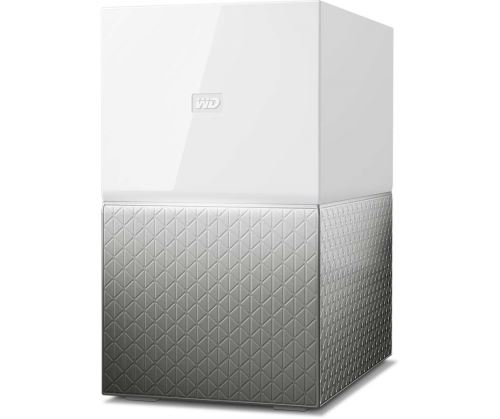 Disque dur externe WD My Cloud Home Duo 4 To Blanc - Serveur NAS.