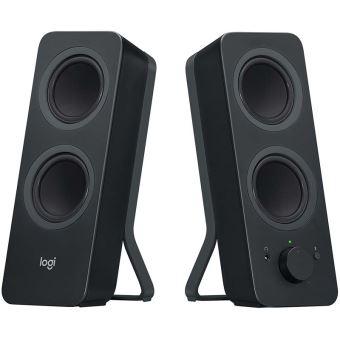 2 enceintes Bluetooth Logitech Z207 Noires