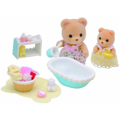 Playset Sylvanian Families 5092 Le bain de bébé ours