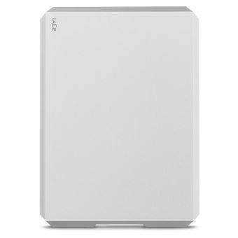 Disque dur portable LaCie 4 To USB-C Gris