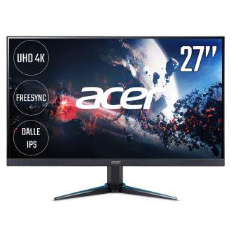 "Acer Nitro VG270K - LED-monitor - 27"" - 3840 x 2160 4K - IPS - 300 cd/m² - 100000000:1 - 4 ms - 2xHDMI, DisplayPort - luidsprekers - zwart"