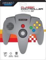 Retro-bit Manette Nintendo 64 Retro-bit Classique Grise
