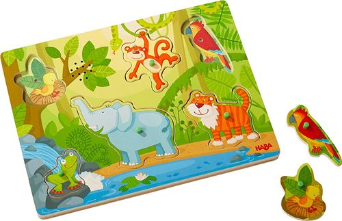 Puzzle musical Haba In the jungle