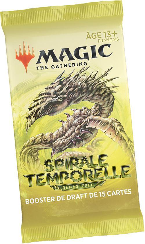 Jeu de cartes Magic Draft Booster Spirale Temporelle Modèle aléatoire