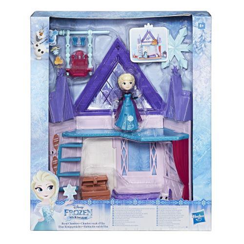 Playset Disney Frozen La Reine des Neiges Chambre royale d'Elsa