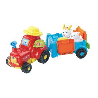 Mon Super Tracteur A Remorque Avec Babette La Biquette A Devinette Tut Tut Animo Vtech