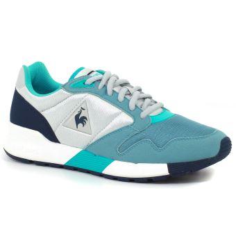 8309a80a93d Chaussures Femme Le coq sportif Omega X Mesh Grises et Bleues Taille ...