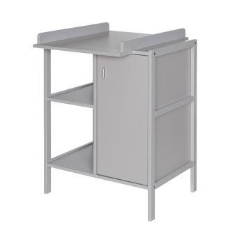 meuble langer avec porte et tagre en bois geuther robby