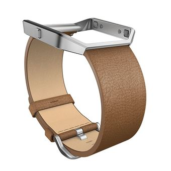 Fitbit Leather Band + Frame - armband