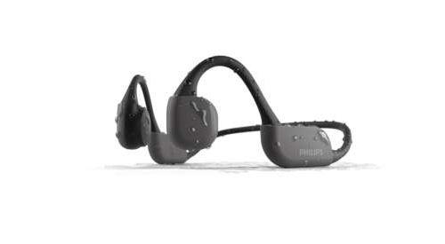 Casque sans fil Bluetooth Philips TAA6606BK Noir