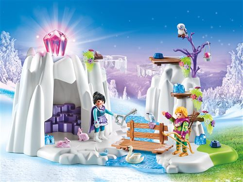 Playmobil Magic Le palais de Cristal 9470 Grotte du diamant Cristal d'amour