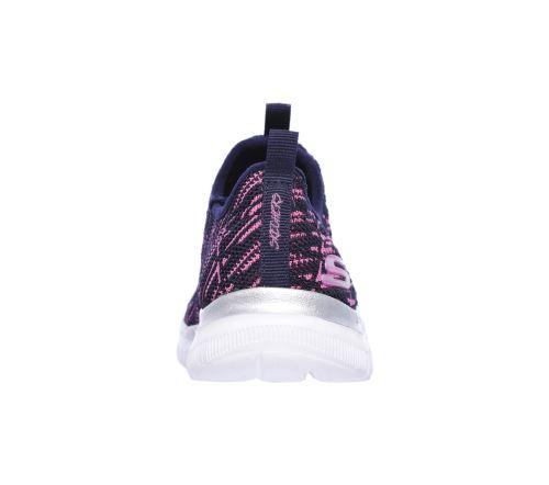 Chaussures Enfant Skechers Skech Appeal 2.0 Roses et Noires Taille 29