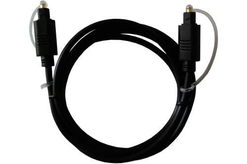Câble optique Proline Toslink Mâle vers Toslink Mâle 1.2 m Noir