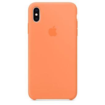 Coque en silicone Apple Papaye pour iPhone XS Max