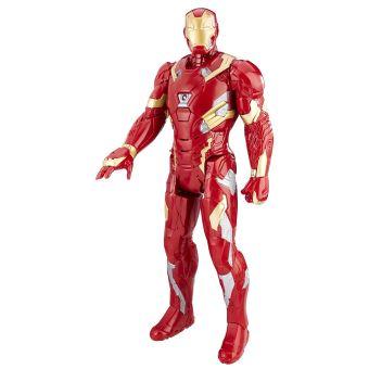 figurine lectronique iron man marvel avengers titan 30 cm autre figurine ou r plique achat. Black Bedroom Furniture Sets. Home Design Ideas