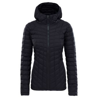 73ab4b58b5eb8 Veste à capuche Femme The North Face Thermoball Noire Taille XL ...