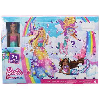 70% sur Calendrier de l'Avent Barbie Dreamtopia   Poupée   Achat