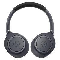 Audio-Technica ATH SR30BT - Koptelefoon met micro - over oor - Bluetooth - draadloos - houtskoolgrijs