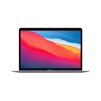 Photo de apple-macbook-air-13-gris-sideral-apple-m1-8-go