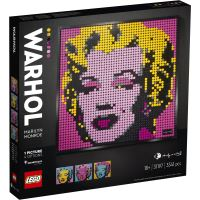 LEGO®Art Andy Warhol 31197 Marilyn Monroe