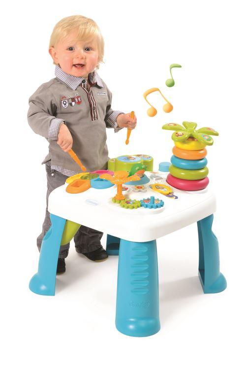Table D Activite Jeu D Eveil Cotoons Smoby Bleu Jeu D Eveil