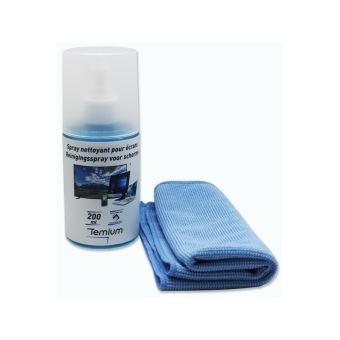Kit de Nettoyage Temium 200 ml pour Écrans