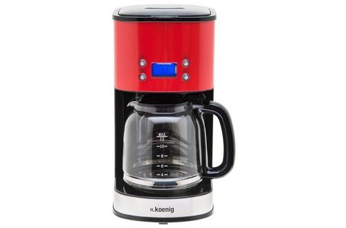 Cafetière Programmable Rouge MG30 - Rouge