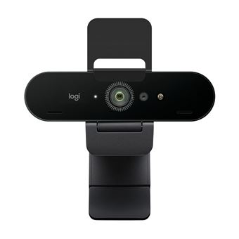 Webcam 4K Logitech Brio Stream Noire