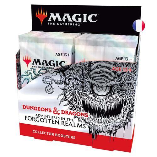 Jeu de cartes Magic Booster Collector Aventures Royaumes Oubliés