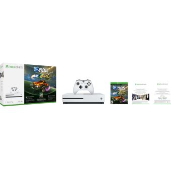 Pack Console Microsoft Xbox One S 1 To Rocket League + 3M Live