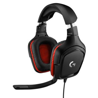 Micro-casque filaire Gaming Logitech G332 Noir