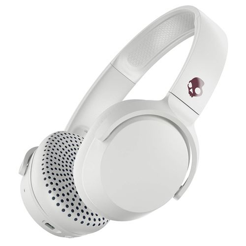 Casque Bluetooth Skullcandy Riff Blanc