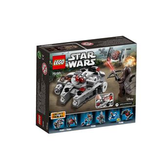 lego star wars 75193 microfighter faucon millenium. Black Bedroom Furniture Sets. Home Design Ideas
