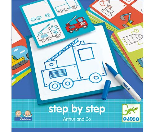 Step by step Arthur and co Djeco