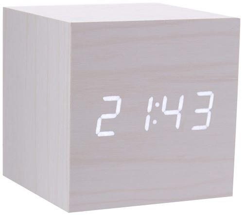 Horloge Gingko Cube click Erable