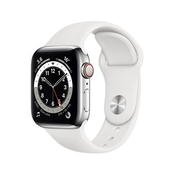 Photo de apple-watch-series-6-40mm-boitier-acier-argent