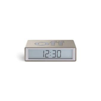 Radio réveil LCD Lexon Flip+ LR150 Aluminium