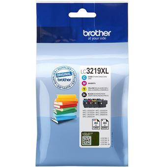 Brother LC3219XL Value Pack - pack de 4 - XL - noir, jaune, cyan, magenta - originale - cartouche d'encre