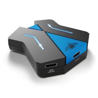 Convertisseur de clavier et souris Spirit Of Gamer CrossGame Noir et Bleu pour consoles