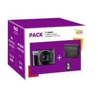 Fnac Pack Canon PF PowerShot SX 720 HS Compacte Camera Zwart + Hoes + 16GB SD-Geheugenkaart