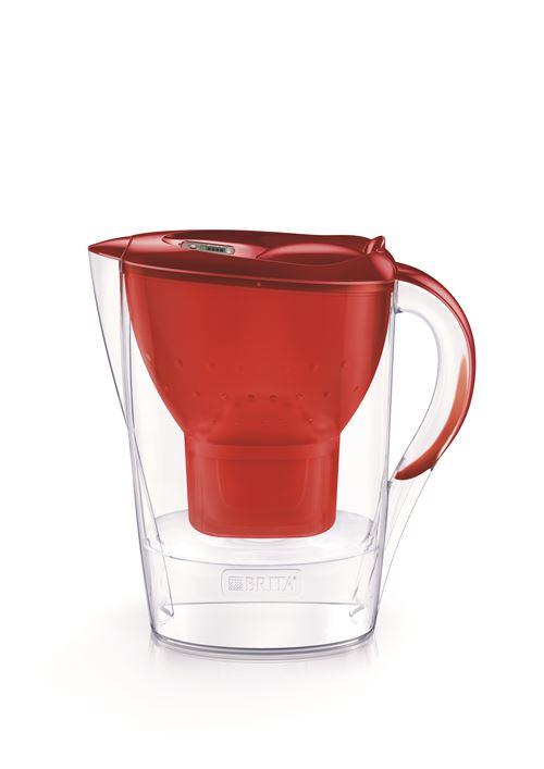 Carafe filtrante Brita Marella 2,4L Rouge