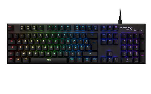 Clavier mécanique HyperX Alloy FPS RGB Noir